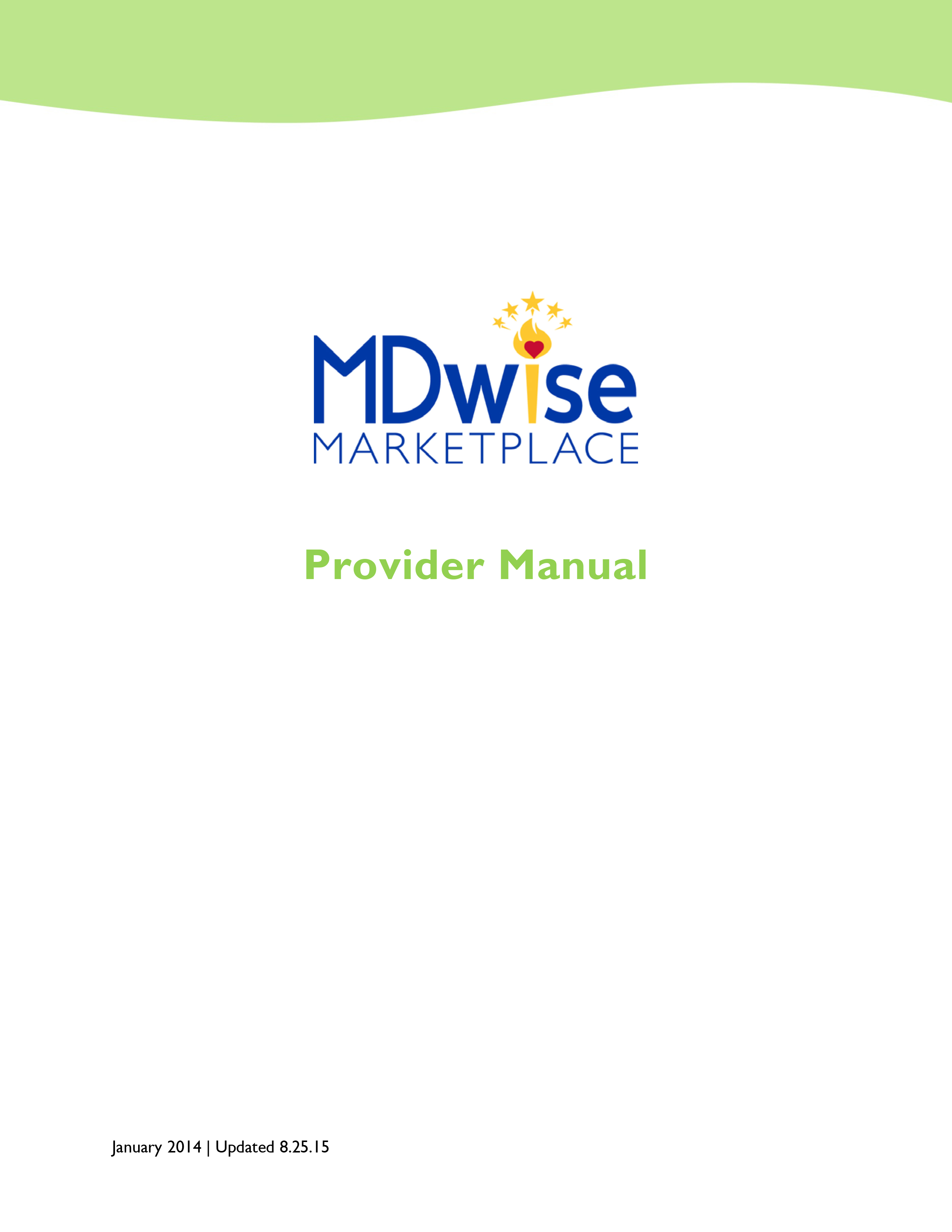 Care Select provider manual